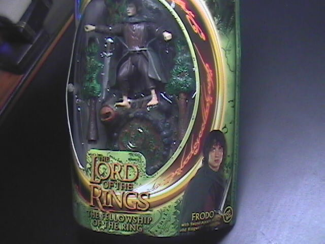 LOTR Frodo With Ringwraith Reveal Base MIB Toy Biz Still Factory Sealed