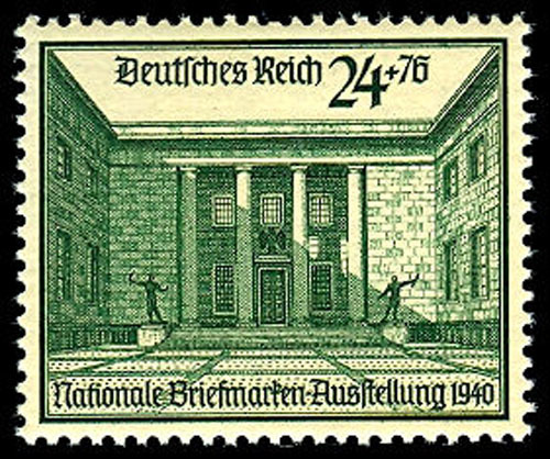 1940 Reich Chancellery Germany Postage Stamp Catalog Number B169 MNH