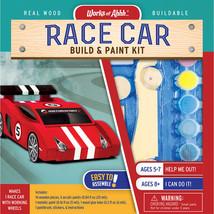 MasterPieces Works of Ahhh... Race Car Wood Paint Kit #21591 - $24.99