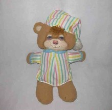 """Cute Vintage 1986 16"""" Fisher Price #1405 Soft Sounds Bear With Rattle - $37.56"""