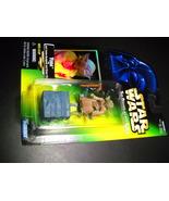 Star Wars POTF Yoda - Gimer Stick Action Figure Green Card Factory Seale... - $9.99