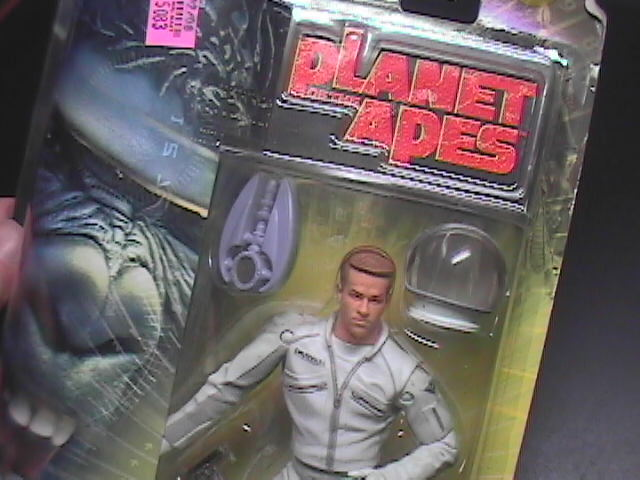 Planet Of The Apes 2001 Major Leo Davidson Action Figure Factory Sealed on Card