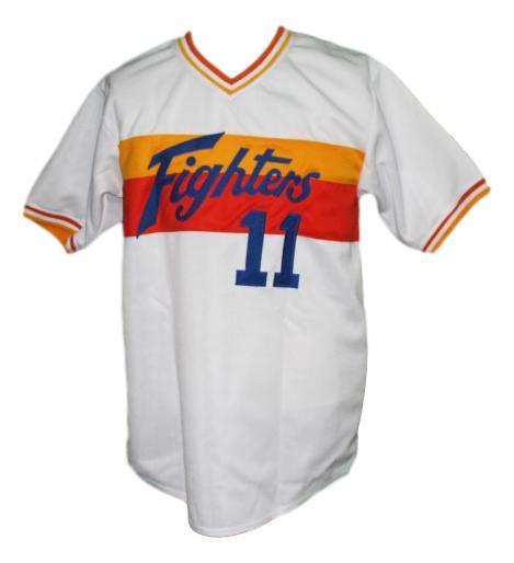 Yu darvish hokkaido nippon ham fighters baseball jersey white   1