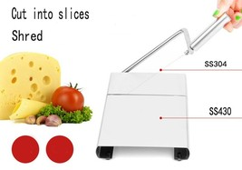 Cheese Slicer Butter Cutting Board Wire Making Dessert Blade Durable Bak... - $25.00