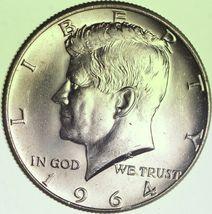 1964 Kennedy Silver Half Dollar AU Silver 900 Mint Very Nice! - $10.81