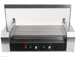 18 Hot Dog 7 Roller Grill Cooker Commercial Machine - $160.50