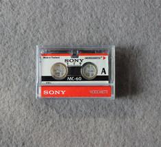 1x Sony MC-60 MC60 Microcassette Blank Cassette Tape Disc 60 min Tapes - $6.72