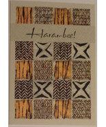 """Greeting Kwanzaa Card """"Harambee!"""" - $2.99"""
