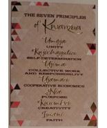 "Greeting Kwanzaa Card ""The seven principles of Kwanzaa"" - $3.99"