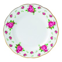 Royal Albert New Country Roses Formal Vintage Bread and Butter Plate NEW - $20.56