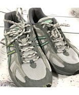 Woman's Asic Size 7 TN7C7 Grey Green Preowned - $25.47