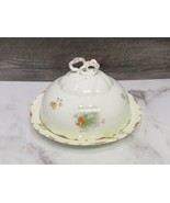 Rosenthal Continental R.C.Versailles Porcelain Covered Butter Cheese Dis... - $41.58
