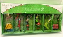 Department 56 LOLLYSTICKS Set of 6 Kym Bowles Ornaments - $19.79