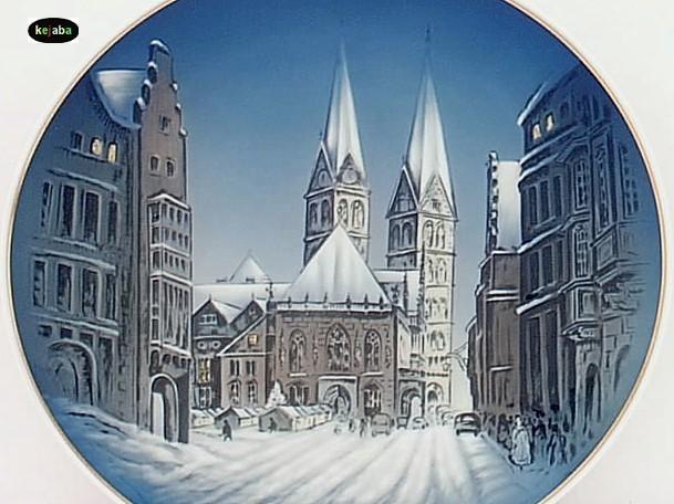 Rosenthal 1968 Christmas Plate