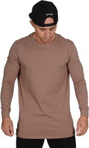 Youngla Men'S Long Sleeve T-Shirt Soft Athletic Muscle Slim Fitted Stret... - $32.66