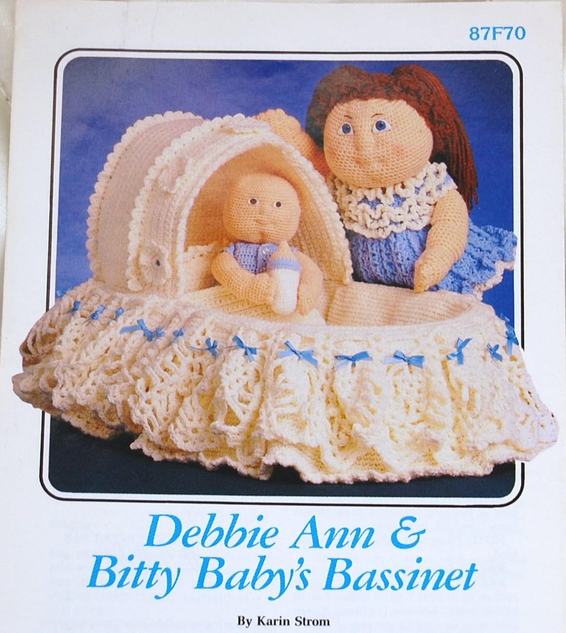 Debbie Ann & Bitty Baby\'s Bassinet Crochet and 46 similar items