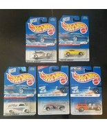 Lot of 5 Hot Wheels 1997/1998 First Edition Cars NEW on cards - $9.79