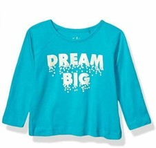 Freestyle Revolution Girls' Dream Big Long Sleeve Top TURQUOISE SIZE 4T SEALED