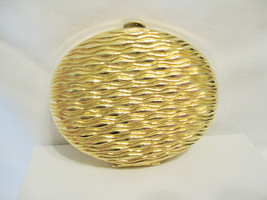 """Estee Lauder Solid Powder compact """"Golden Waves"""" new with protective pouch RARE - $26.99"""