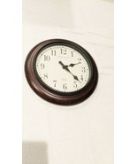 Sterling and Noble Dark Wood Wall Clock Registration Serial 2,055,787 Mf... - $11.88