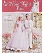 Prom Night Pair Crochet Barbie™ Ken Tuxedo Blouse Tiara Pants Jacket Sho... - $12.82