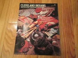1983 Cleveland Indians Scorebook Program Souvenir Magazine MLB Baseball - $6.99