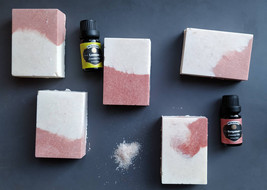 Frech Pink Clay Himalaya Soap | Bergamot and Lemon| - $7.70