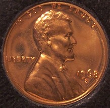 1968-S Proof Lincoln Memorial Penny #0204 - $1.19