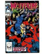 Wolverine #7-VF/NM-Marvel Comic Book-1989 - $18.92
