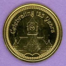 2005 Almonte Ontario Trade Token or Dollar Clock Tower Crest 125 Years BrP - $8.95