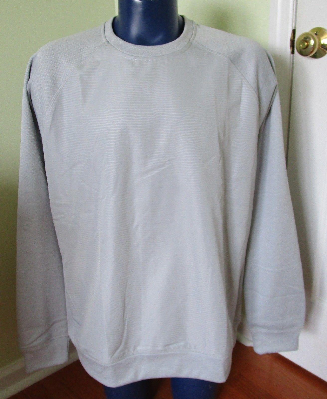 John Wall NBA Adidas Wavy crew shirt light gray XLT $75 NWT NEW pullover TALL