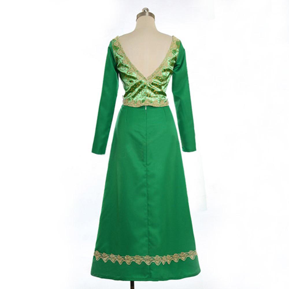 The Shrek Princess Fiona Dress Princess Cosplay Costume Fancy Dress