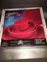 BRAND NEW 5 Piece Fiestaware - Scarlet - Red - ... - $34.65