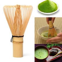 Japanese Ceremony Bamboo 64 Matcha Powder Whisk Green Tea Chasen Brush T... - $13.99