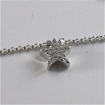 925 RHODIUM SILVER JACK&CO NECKLACE STAR BUTTERFLY HEART CLOVER MADE IN ITALY image 7