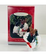 Hallmark Keepsake Ornament Purr-Feat Little Deer 1989 - $10.39