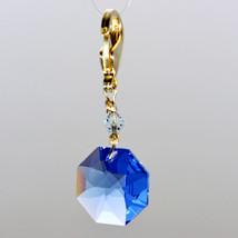Crystal Octagon Zipper Pull image 12