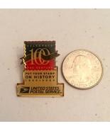 Celebrate 100 Years 1900-2000 The Century US Postage Stamp Lapel Pin Plu... - $19.79