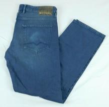 Hugo Boss Orange 24 Barcelona Blue Denim Jeans W 36 L 32  Special Dye - $59.99