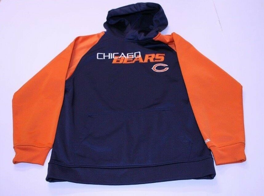 Primary image for Youth Chicago Bears M (10/12) Athletic Hoodie Hooded Sweatshirt Reebok