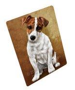 Jack Russel Puppy Dog Art Portrait Print Woven Throw Sherpa Plush Fleece... - $117.81