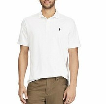 Polo Ralph Lauren Men Cotton Soft Touch White Polo Shirt XL NWT - $37.15