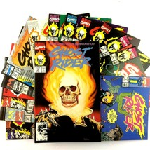 Ghost Rider 14 Comic Book Lot Marvel 2 4 6 7 15 16 17 18 21 25 28 29 31 33 - $39.55