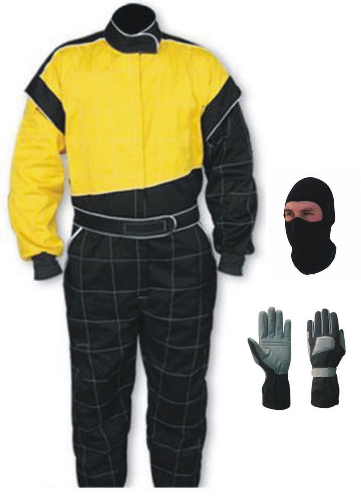 Latest Design Go Kart Race Suit Pack With Gloves (Free gifts included)