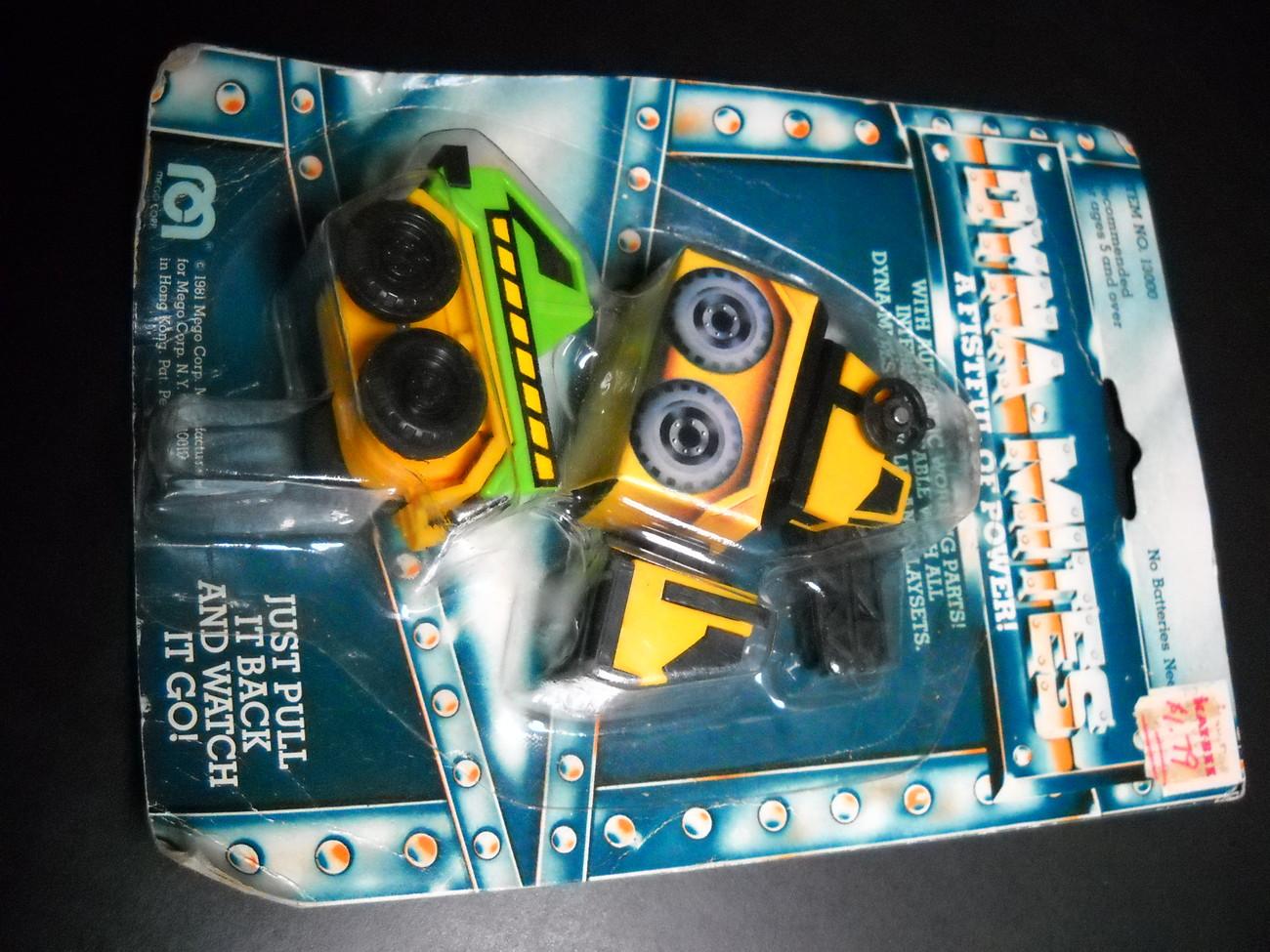 Toy mego dyna mites vehicles 1981 sealed 01