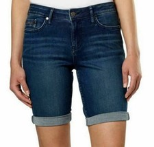 Calvin Klein Ladies Jeans Inkwell Blue Bermuda City Shorts SIZE 6 NEW - $16.14