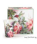 4 Hummingbird and Azalea Porcelain Mugs Designed By Artist Carolyn Shore... - €32,94 EUR