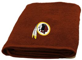 "Washington Redskins Bath Towel Dimensions:are 25"" x 50"" - $17.95"