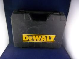 Dewalt DC970K-2 Cordless Drill Driver Genuine Black Plastic Tool Case - $25.00