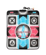 USB RCA Non-Slip Dancing Step Dance Mat Pad Compatible for Computer TV Game - £18.17 GBP